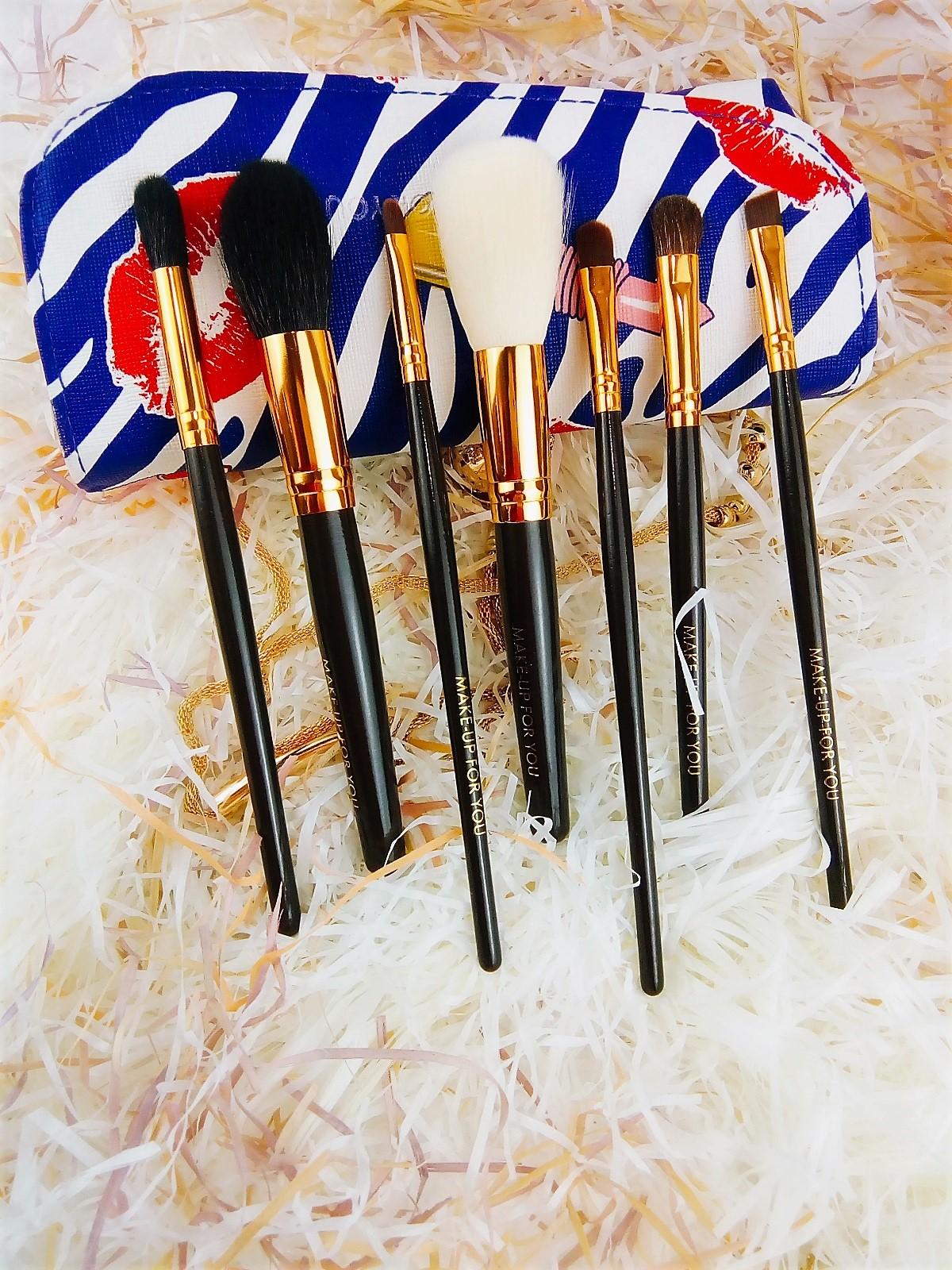 Набор кистей для макияжа 7 штук