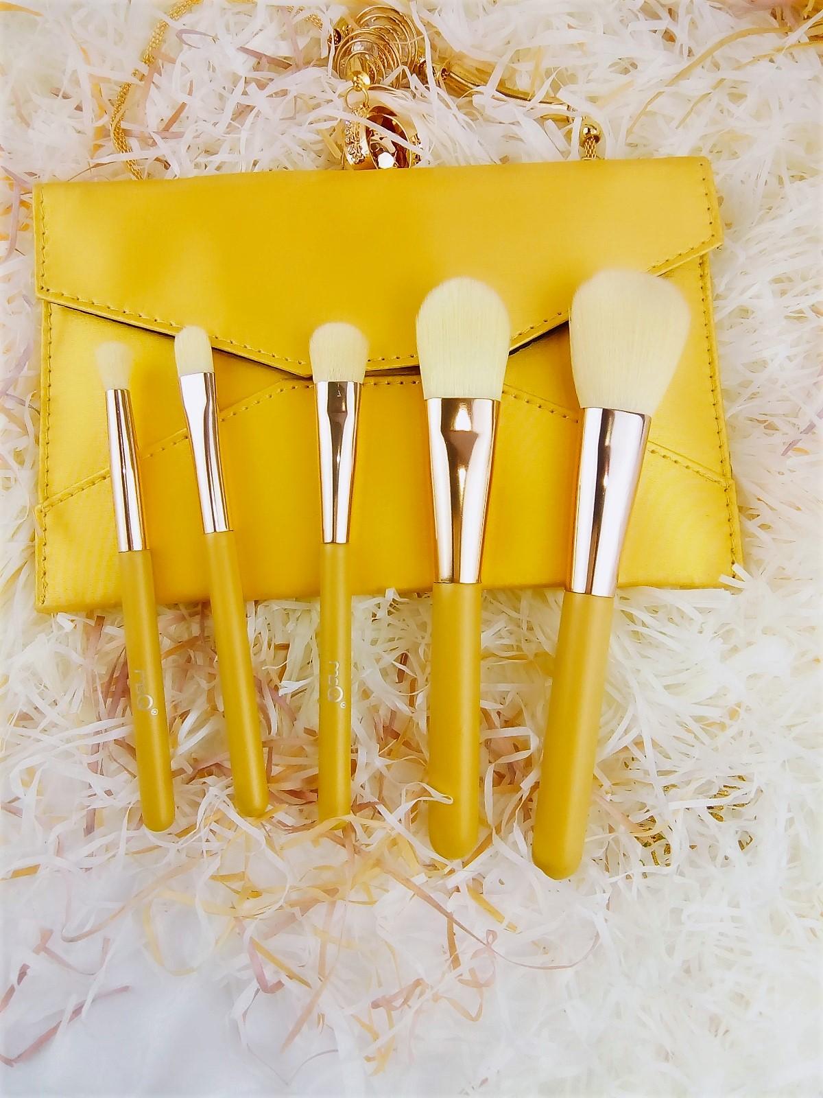 Набор кистей для макияжа 5 штук MSQ ( ворс таклон).
