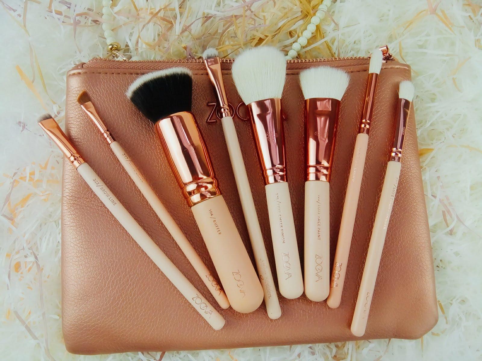 Набор кистей для профессионального макияжа 8 штук
