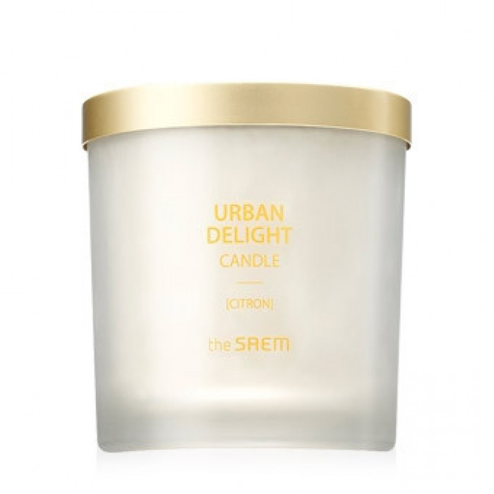 Аромасвеча Urban Delight Candle Citron 160гр