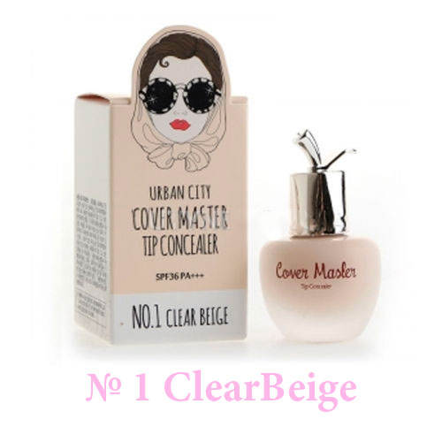 Консилер Urban City Cover Master Tip Concealer NO.1 CLEAR BEIGE