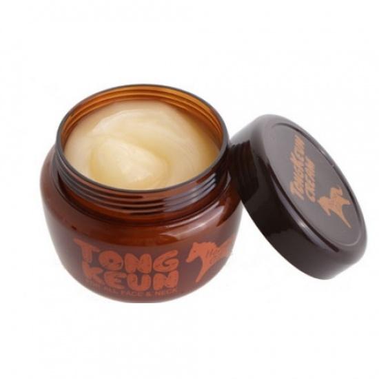 Маска питательная для лица с лошадиным жиром Urban Dollkiss Tongkeun Golden Horse Oil Pack