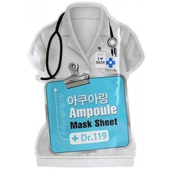 Маска для лица увлажняющая Dr.119 Aquaring ampoule mask sheet