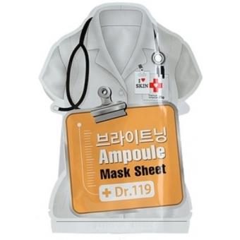 Маска для лица осветляющая Dr.119 Brightening ampoule mask sheet