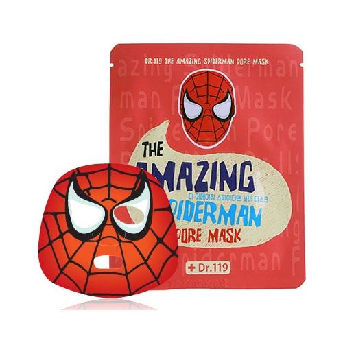 Маска для ухода за порами лица  Dr.119  The Amazing Spiderman pore Mask