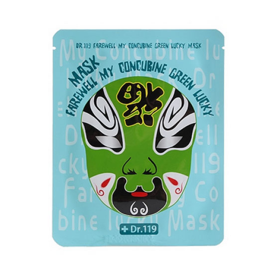 Маска для лица укрепляющая Dr.119 Farewell My Concubine Green lucky Mask