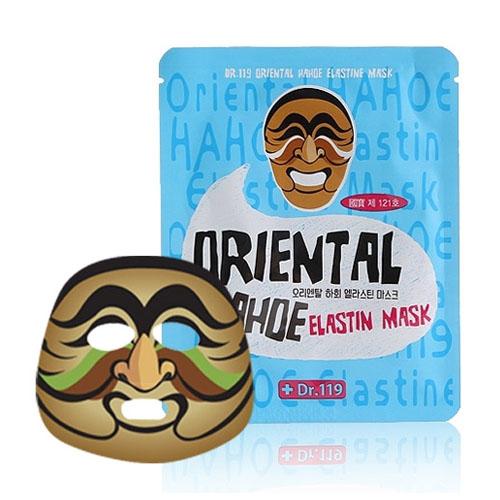 Маска для лица с эластином Dr.119  Oriental HAHOE Elastine Mask