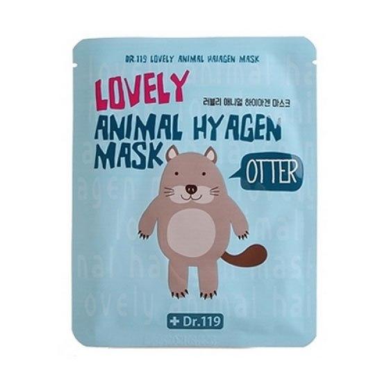 Маска для лица коллагеновая Dr.119 Lovely Anymal Hyagen Mask