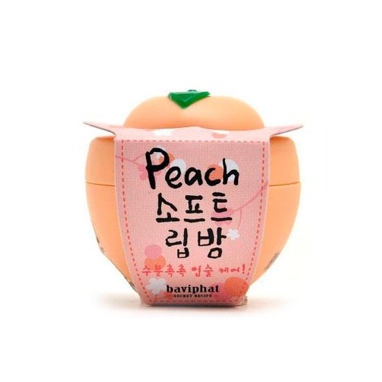 Бальзам для губ персик Peach Soft Lip Balmm