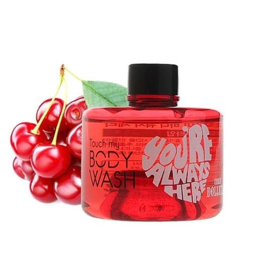 Гель для душа с экстрактом вишни Dollkiss Touch My Body Wash (Cherry)