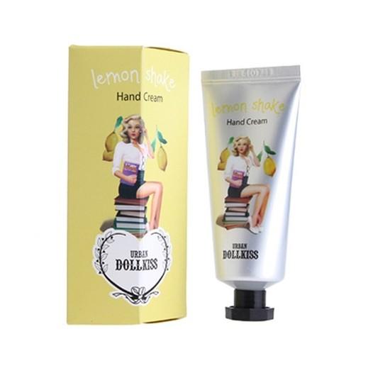 Крем для рук Shake смягчающий Dollkiss Lemon Shake Hand Cream