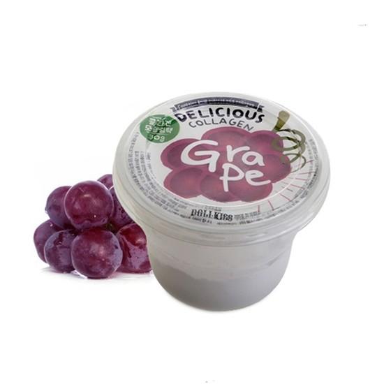Маска для лица коллагеновая (Виноград) Urban Dollkiss Delicious Collagen Modeling Pack(Grape)