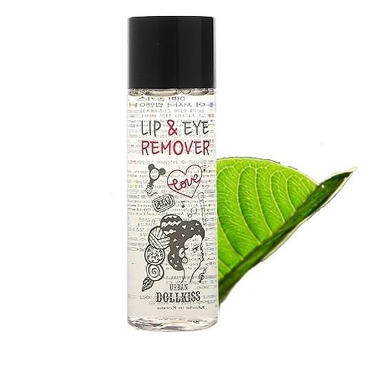 Средство для снятия макияжа с глаз и губ Dollkiss The Pure Lip & Eye Remover