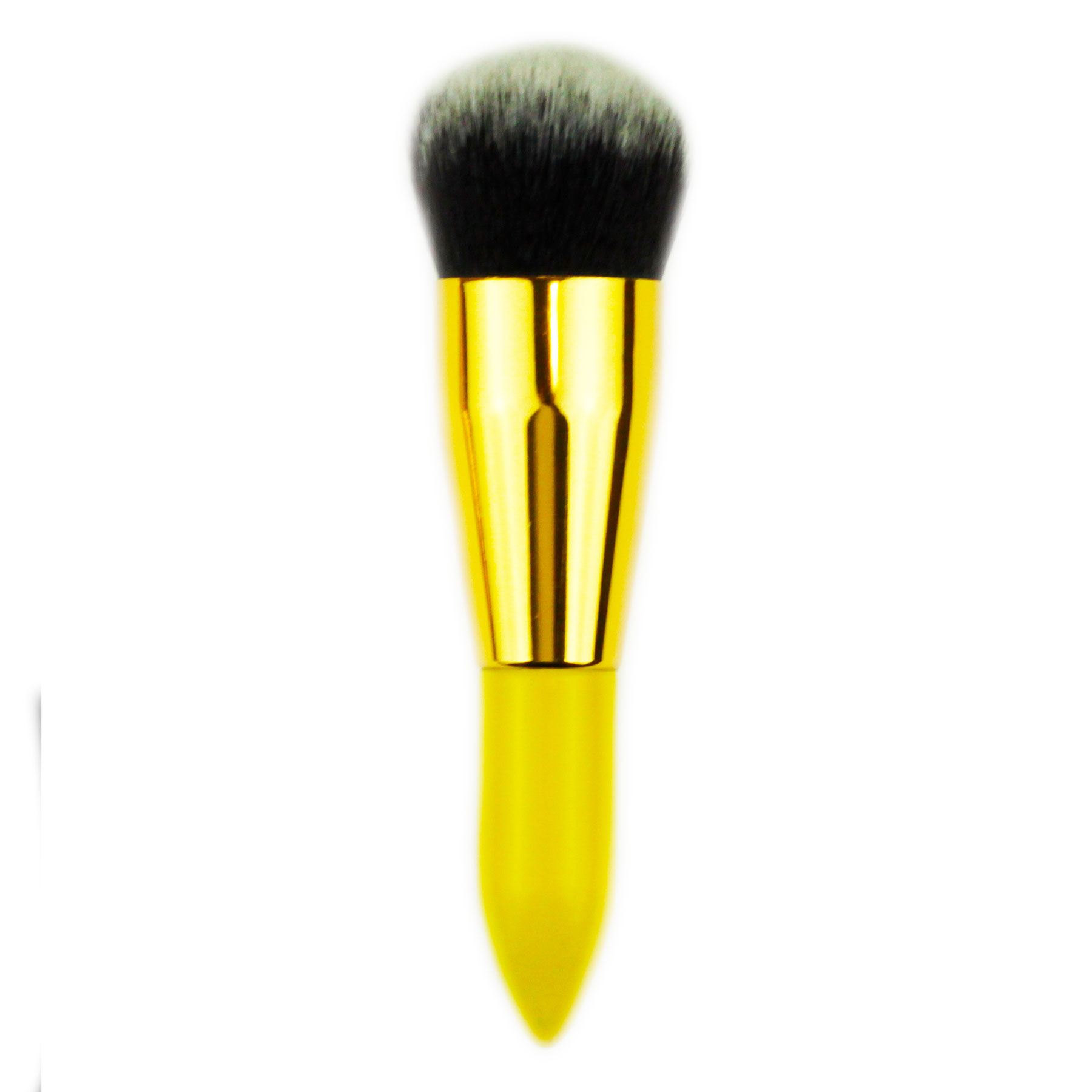 Кисть Bamboo Bronzer Brush ( желтая)