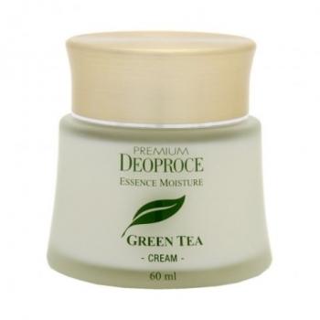 Крем на основе зеленого чая PREMIUM DEOPROCE GREENTEA TOTAL SOLUTION CREAM 60ml
