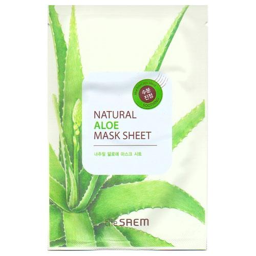 Маска тканевая с экстрактом алое вера Natural Aloe Mask Sheet