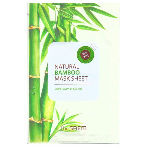 Маска тканевая с экстрактом бамбука Natural Bamboo Mask Sheet