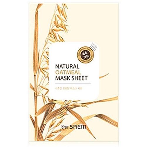 Маска тканевая с экстрактом овсянки Natural Oatmeal Mask Sheet