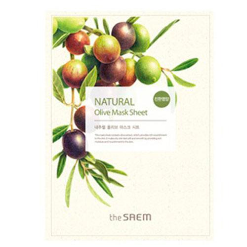 Маска тканевая с экстрактом оливы Natural Olive Mask Sheet