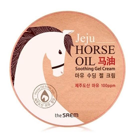 Крем-гель на основе конского жира Horse Oil Soothing Gel Cream