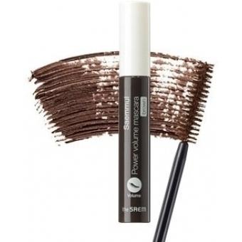 Тушь для ресниц Power Объем коричневая Saemmul Power Volume Mascara - Brown