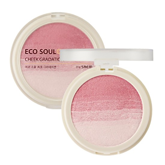 Румяна компактные 01 Eco Soul Cheek Gradation  01 Flower Shower
