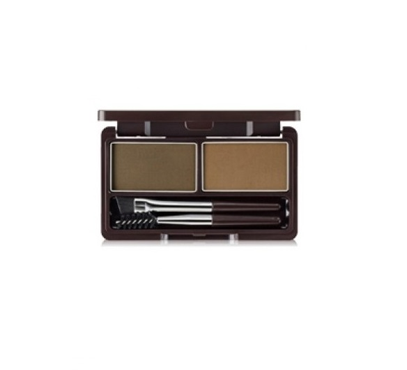 Пудра для бровей 01 Eco Soul Eyebrow Kit 01 Brown