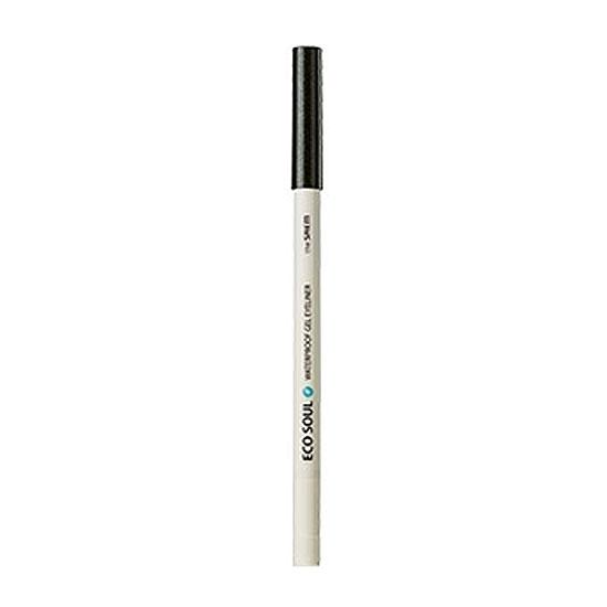 Карандаш для глаз водостойкий гелевый 16 Eco Soul Waterproof Gel eyeliner 16 Aurora Deep Khaki