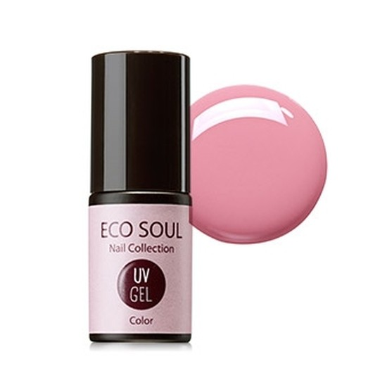 Гель-лак для ногтей Eco Soul Nail Collection UV GEL PK01 pink Ballet
