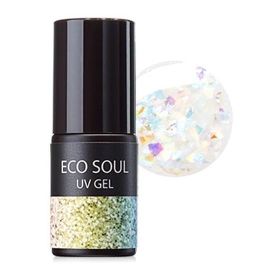 Гель-лак для ногтей Eco Soul Nail Collection UV GEL GWH01 Rainbow