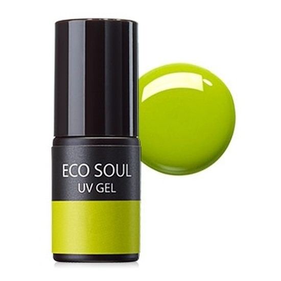 Гель-лак для ногтей Eco Soul Nail Collection UV GEL GR01 Fresh Lime
