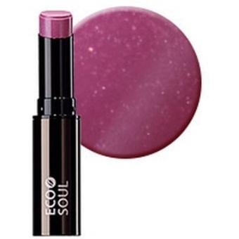 Помада увлажняющая сияющая Eco Soul Moisture Shine Lipstick PP01 Itaewon Purple