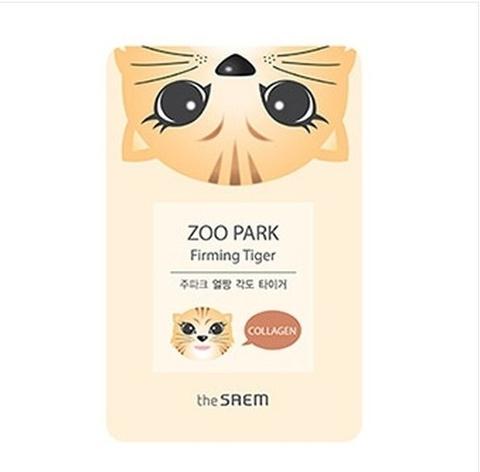 Маска ZOO для лица укрепляющая ZOO PARK Firming Tiger