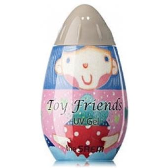 Гель-лак для ногтей Toy Friends UV Gel GA01 toy gray