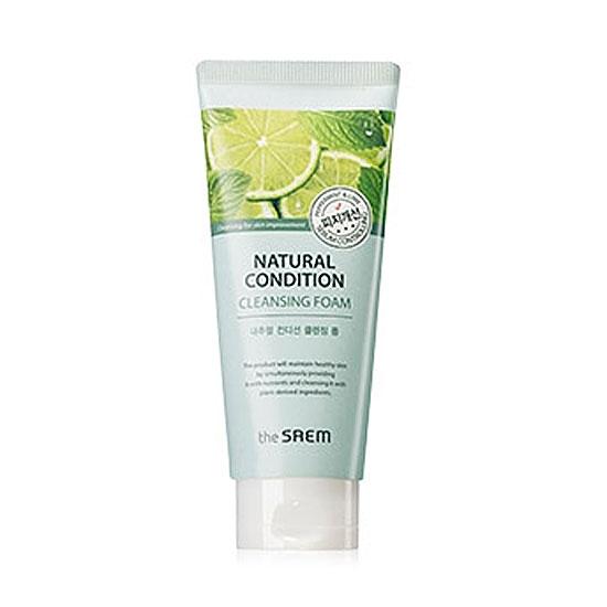 Пенка для умывания жирной кожи Natural Condition Cleansing Foam [Sebum Controlling]