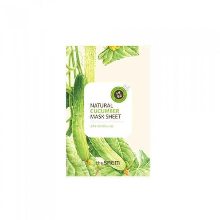 Маска тканевая с экстрактом огурца (NEW)Natural Cucumber Mask Sheet