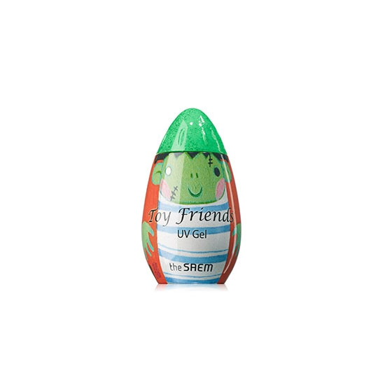 Гель-лак для ногтей Toy Friends UV Gel-Ghost editionGGR01 Monster Green