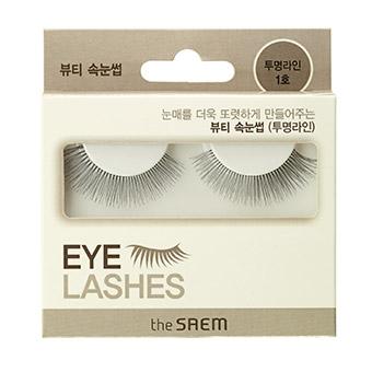 Накладные ресницы Eyelash Clear Line 1