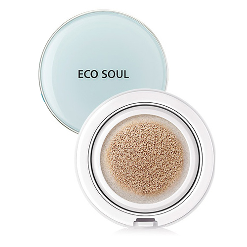 Тональное покрытие 01 Eco Soul Power Proof Cooling BB CUSHION 01 Aqua Beige