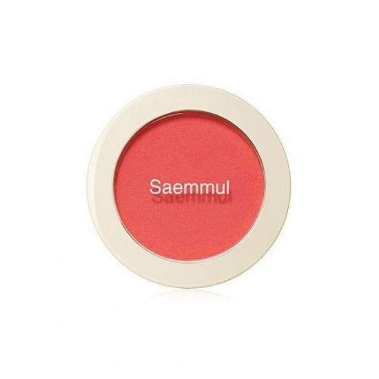 Румяна Saemmul Single Blusher RD01 Dragon Red