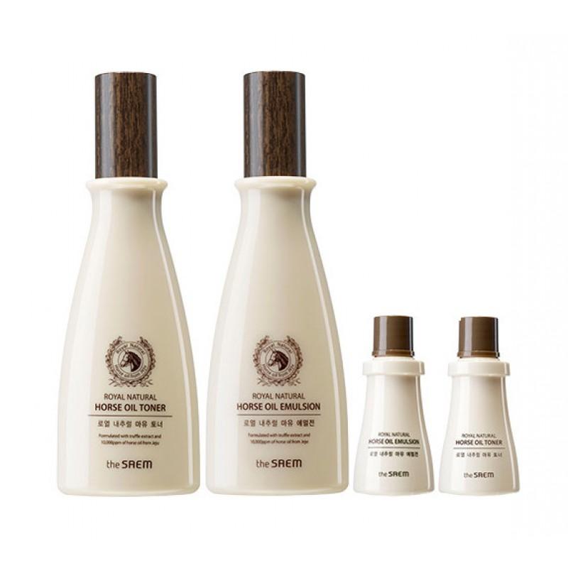Набор средств с лошадиным жиром Royal Natural Horse Oil Skin Care Special 2 Set