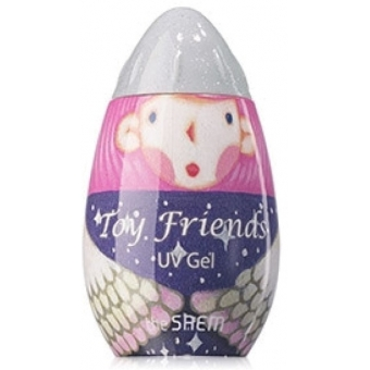 Гель-лак для ногтей Toy Friends UV Gel SWH01 toy silver