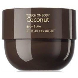 Крем-масло с кокосом TOUCH ON BODY Coconut Body Butter