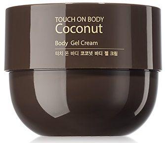 Крем-гель с кокосом TOUCH ON BODY Coconut Body Gel Cream