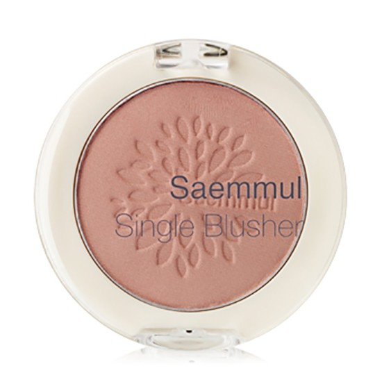 Румяна Saemmul Single Blusher CR01 Naked Peach