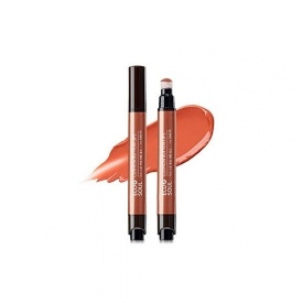 Помада для губ Eco Soul Cushion Button Lips CR02 Soft Coral