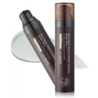 База под макияж ECO SOUL Real Fit Make Up Base 01.Green