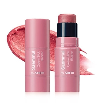 Румяна кремовые Saemmul Cream Stick Blusher PK02 Rose Fire