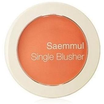 Румяна Saemmul Single Blusher OR02 Selfie Orange