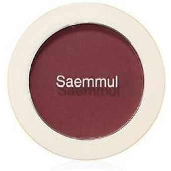 Румяна Saemmul Single Blusher RD02 Dry Rose